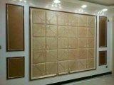 panneau de mur en cuir de l'unité centrale 3D pour la décoration intérieure moderne