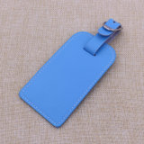 2015 Zoll PU Leather Luggage Tags mit Embossed Logo