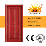 판매는 골라낸다 실내 단단한 나무로 되는 문 (SC-W048)를