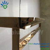Metallregal-Halter-hängender Regal-Support für die Kleidung, die Bildschirmanzeige hängt