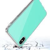 Cas acrylique de téléphone mobile de brouillon de TPU anti