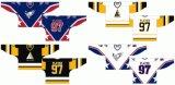 Hokey di ghiaccio domestico personalizzato della strada degli Americani 1988-2008 occidentale della Tri-Città della Lega di Hockey dei capretti delle donne degli uomini Jersey