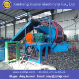 Los neumáticos de alta eficiencia de la máquina trituradora de papel / máquina de reciclaje de neumáticos usados