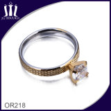 Big Crystal Wedding Ring for Girl