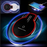 Caliente la venta de lámpara de mesa LED táctil Qi Wireless Cargador para iPhone x