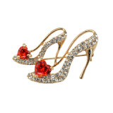 VAGULA Fashion High-Heel Shoe Broche strass