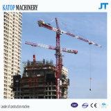 構築機械装置のための2017年の中国製最もよい販売Tc5510の自己上昇のタワークレーンアイサ