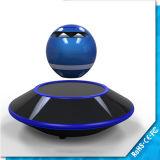 Levitación magnética del UFO del mini-altavoz Bluetooth inalámbrico de luz