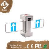 Barrière de balayage biométrique automatique double cœur pour centre de conditionnement physique