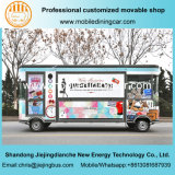 Jiejing Gemaakte Elektrische Mobiele Vrachtwagen voor Goederen