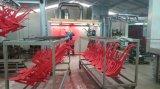 Cabina de aerosol manual de polvo del tratamiento por lotes con el mono sistema de la recuperación del ciclón