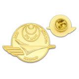 Exército de Polícia Ouro personalizado crachá Pin Pvcpatches PVC RFID do Molinete