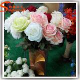 Los más vendidos decorativo flor artificial de seda rosa