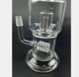 câmara de ar de vidro do cachimbo de água da recuperação do filtro do ninho do ninho da tubulação 7.8-Inch