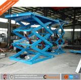 Die heiße hydraulische anhebende Plattform 1000kgs des Verkaufs-8m, stationär Scissor hydraulische anhebende Plattform