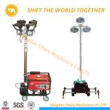 Generador Diesel de inserción de la mano de la torre de la luz de móviles para la venta