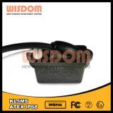 Lámpara del casco del funcionamiento del minero de la antorcha del casquillo del minero del LED, faro Kl5ms