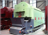 Met kolen gestookte Boiler