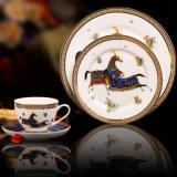 中国2 Hourseディスク一定の世帯の陶磁器テーブルウェア