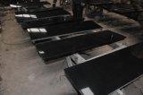 Struik Gehamerde Countertop, de Open haard en de Tegel van Shanxi van het Graniet Zwarte