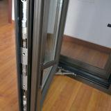 Rete di zanzara di alluminio dell'acciaio inossidabile della finestra della stoffa per tendine di profilo di alta qualità & della stoffa per tendine K03028