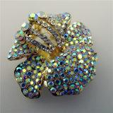 Clip del pattino ab delle signore piane popolari dell'arco del cristallo del Rhinestone la maggior parte e di alta qualità