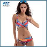 Износ пляжа Swimwear Swimsuit Бикини способа спорта Spandex Lycra