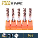 Fxc HRC55 4 flûtes Rayon de coin fin Mills