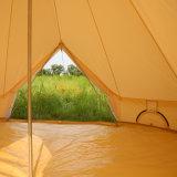 Glampingの贅沢なキャンバス5メートルのデラックスな鐘テント