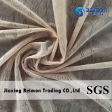 Ткань сетки жаккарда бленды причудливый полиамида цвета конструкции обнажённого эластичная