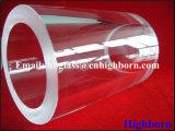 La pureza del espesor de pared clara Proveedor de tubo de cristal de cuarzo.