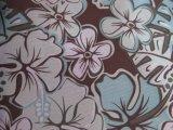 600D Oxford grande fleur tissu de polyester d'impression avec le PVC