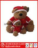 Orso blu sveglio dell'orsacchiotto per il regalo di natale