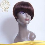 Оптовый реальный парик шнурка краткости выдвижения волос Remy продуктов волос
