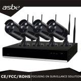 macchina fotografica senza fili della strumentazione di obbligazione del CCTV del kit di P2p NVR del richiamo di IR di schiera 4CH
