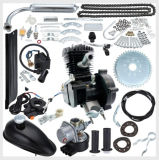 Il kit nero 66cc/80cc, gas del motore della bici del gas del colpo di Cdh 2 ha motorizzato la bicicletta