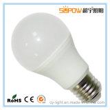 Luz de bulbo caliente de la lámpara LED de las ventas 3W 5W 7W 9W 12W E27 B22