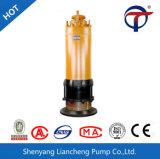 A bomba de água elétrica submergível da água de esgoto de Wqn da Quente-Venda com Scissor o sistema da estaca