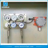 Cabina de almacenaje médica del cilindro de gas del laboratorio con el dispositivo de seguridad