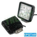 27W 4.3inch Epistar LEDs自動働くランプLED作業ライト