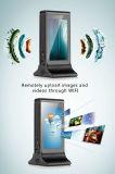 Affissione a cristalli liquidi doppia dello schermo di tocco di vendita del nuovo da 7 pollici basamento caldo della Tabella che fa pubblicità alla visualizzazione