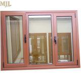 호화스러운 알루미늄 입히는 목제 여닫이 창 경사 회전 Windows