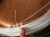 Revestimento de Nylon fio de aço para encadernar como livro