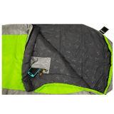 新しい方法縞の緑の寝袋中国Suppliper
