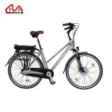 250W городской электрический велосипед с 26'' задних шин для установки в стойку
