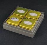 ギフトのための高品質OEMの茶錫ボックス