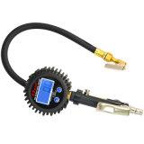 Bestes Durchmesser-Anzeigeinstrument-Gesicht des Verkaufs-71mm mit Zink-Legierungs-Karosserien-Gummireifen-Luftpumpe-Anzeigeinstrument