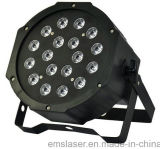 Fabricante de 18 LED DMX512 Par Efecto de la etapa de Luz PAR Discoteca DJ