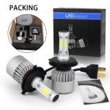 12V 24V DC LED de alta potencia 9005 Kit de faros de coche, 8000LM Ventilador H11 H4 H7, faros LED Auto