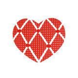 Chic tissu Heart-Shaped Mémo Conseil Décoration d'accueil pour les enfants